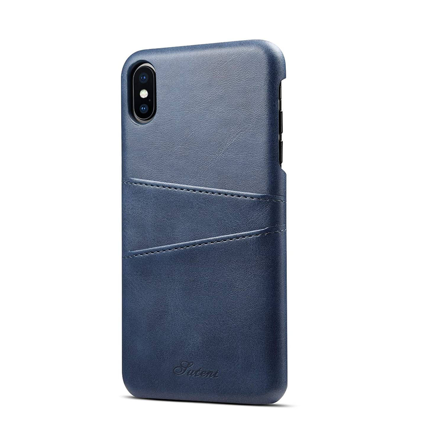 iPhone Case PU Leather Wallet Magnetic Adsorption Folio Flip Cover Phone Case