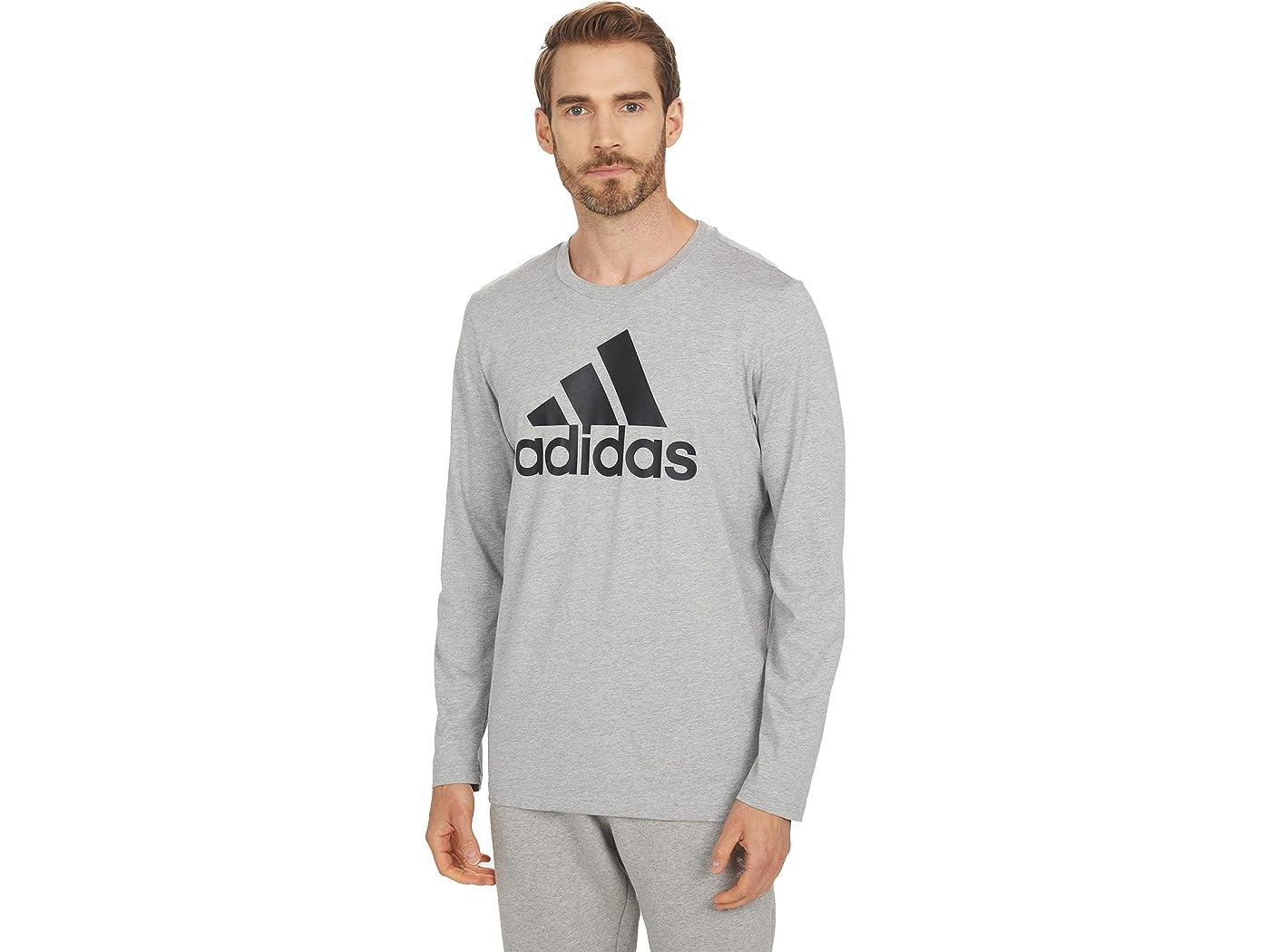 Adidas Big Logo Single Jersey Long Sleeve Tee