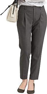 [グリーンレーベルリラクシング] [ 手洗い可能/ボタニーサージ ] ◆D テーパード パンツ ◇No2◇ 35141471576 レディース