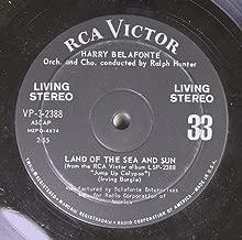 Harry Belafonte 45 RPM Land of the Sea and Sun / Gloria
