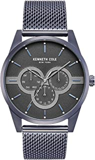 Kenneth Cole Men's Grey Dial STAINLESS STEEL Band Watch - KC15205003