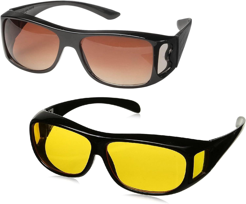 Wrap Around Glasses, Sunglasses, Night glasses, Driving Glasses