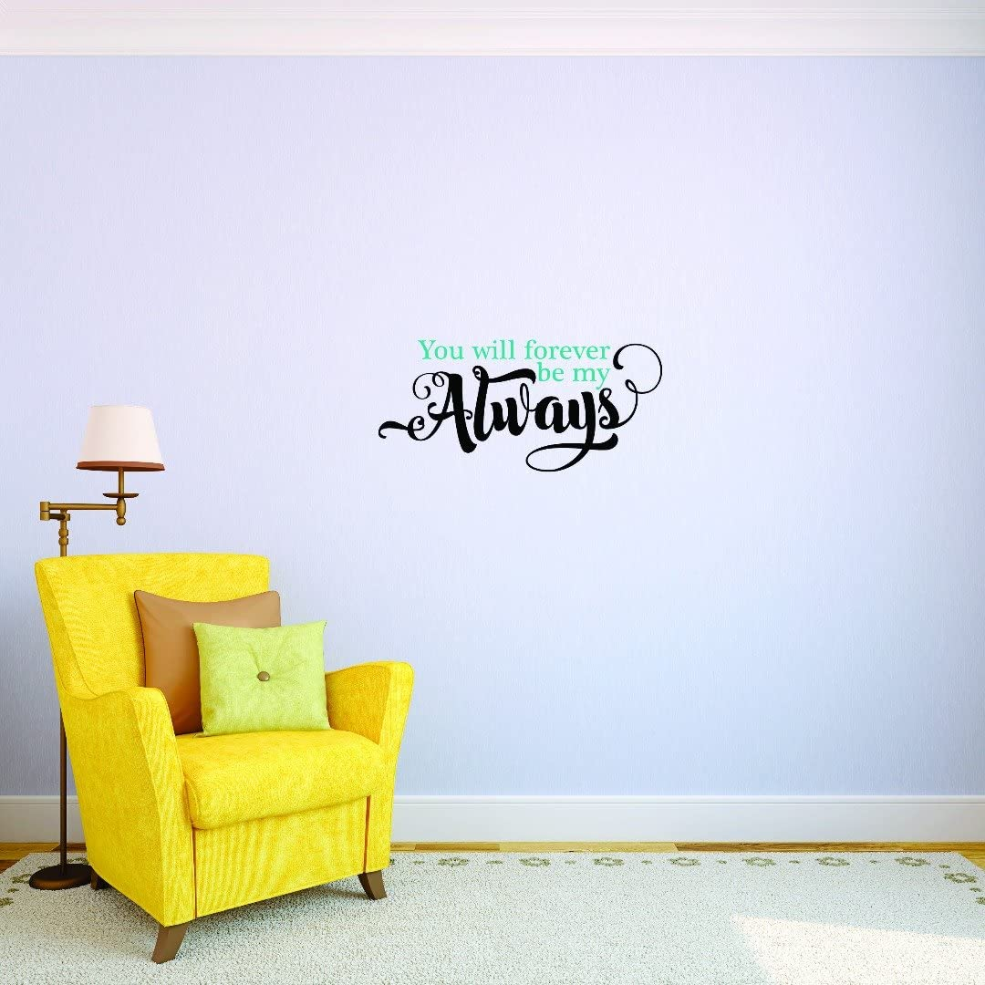 Design Surprise price with Vinyl JER 1742 2 Hot Will Decals New Forever Be You Atlanta Mall