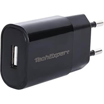 Chargeur Secteur vers USB Noir pour iPhone 5 5S 5C Se