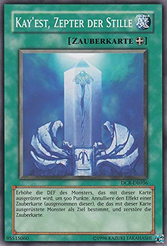 DCR-DE036 - Kay'Est, Zepter der Stille - Common - Yu-Gi-Oh - Deutsch - 1. Auflage