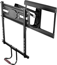 VIVO Counterbalance Above Fireplace for 43 to 70 inch LCD LED Plasma Screens | Height Adjustable Swivel Pneumatic Spring TV Pull Down Mantel Wall Mount (MOUNT-VW70G)