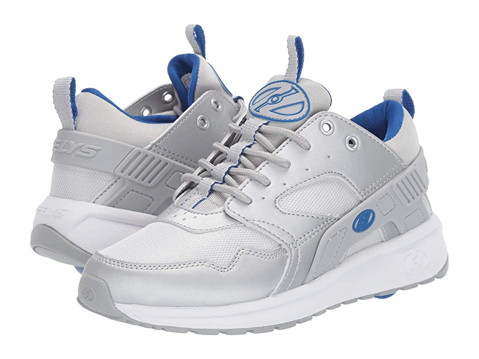 Heelys Force (Little Kid/Big Kid/Adult) (Silver/Blue) Boys Shoes