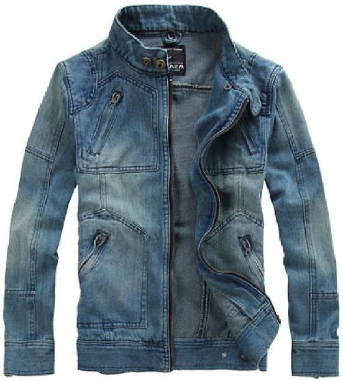 - Andopa Andopa Andopa Men's Detachable Motorcycle Denim Hood Long-Sleeve Trucker Jacket ff5195