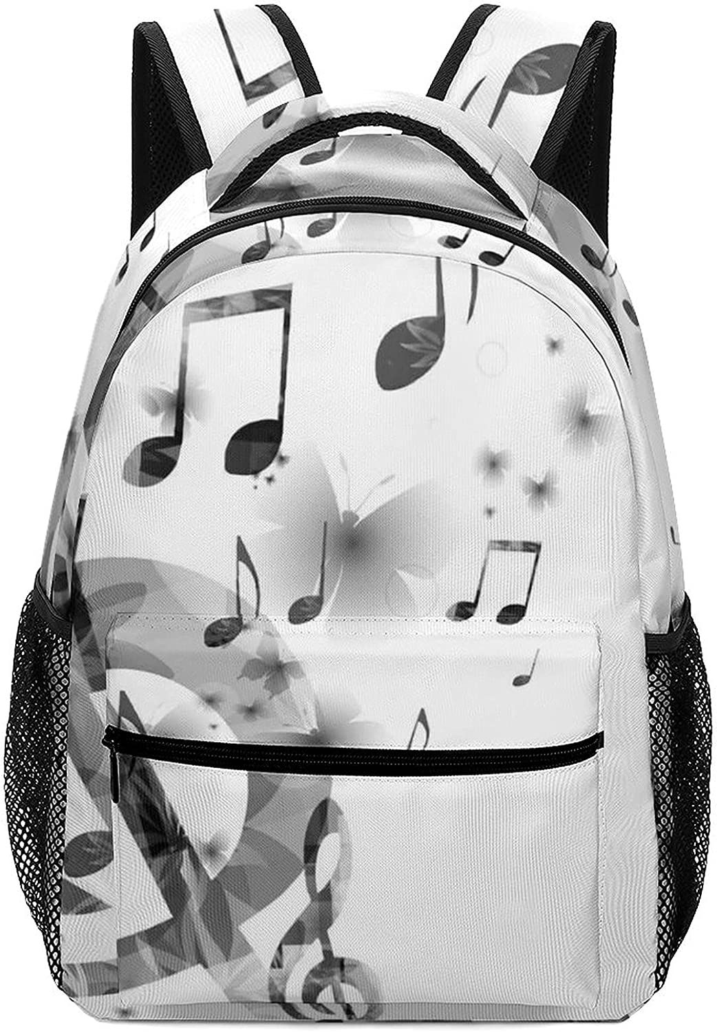 white-Music9 Max 82% OFF ASDFJKL children's backpack with padded Detroit Mall and adjusta