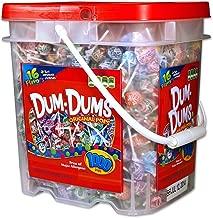 DUM DUMS Lollipops, Variety Flavor Mix, 1,000 Count Bucket