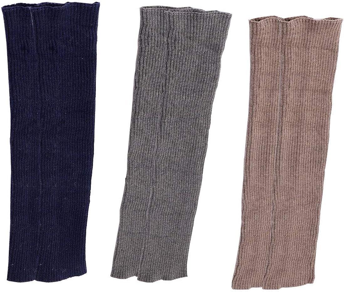 Lucky staryuan Women Set of 3 Cashmere Knit Leg Warmer Boot Warmer Warm Leg Warmers