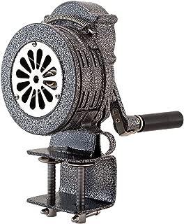 Vixen Horns Loud Base/Table/Clamp Mount Hand Crank Manual Operated Metal Alarm/Siren (Air Raid) VXS-1000EM
