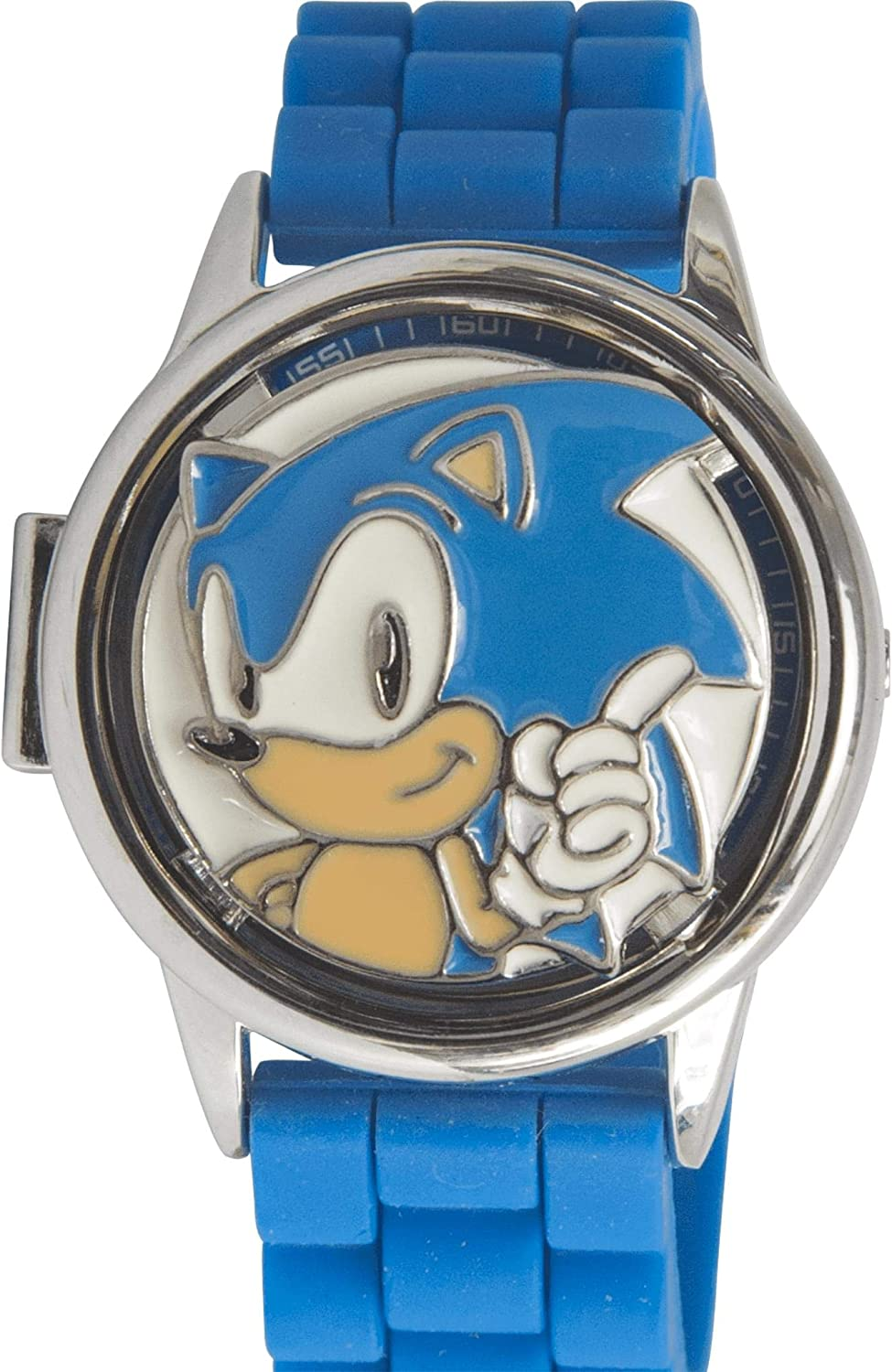 Sonic The Oklahoma City Mall Hedgehog Wristwatch Translated Dial Spinning