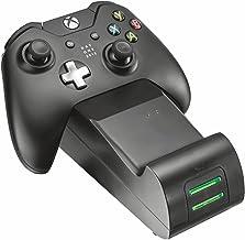 Trust Gaming GXT 247 Station de Charge Double pour Xbox One - Noir