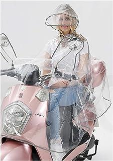 Chubasquero para Mujer de Gran tamaño para Hombre, Bicicleta, Motocicleta, EVA, Transparente, de ala Grande, Duradero, Lig...