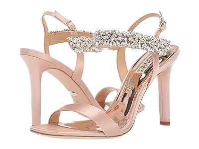 Badgley Mischka Lilly (Soft Blush Satin) High Heels