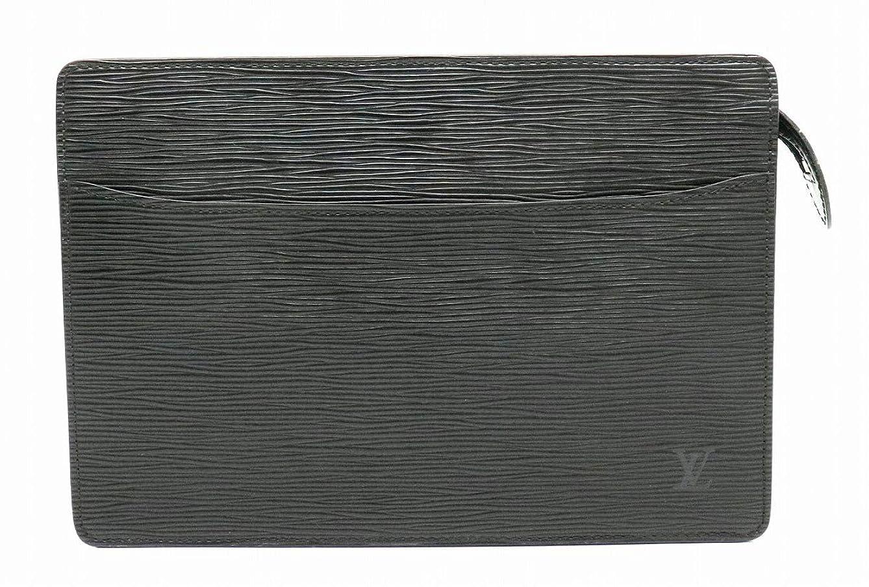 襲撃加速度正統派[ルイ ヴィトン] LOUIS VUITTON エピ ポシェット オム セカンドバッグ ハンドバッグ クラッチバッグ レザー ノワール 黒 ブラック M52752 [中古]