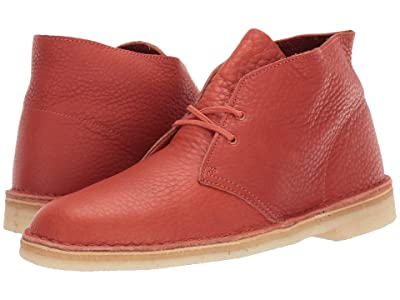 Clarks Desert Boot (Burnt Orange Leather) Men
