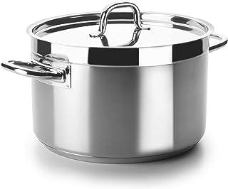 Lacor - 54051s - Cacerola Alta Sin Tapa Chef Luxe 50 Cm Inox