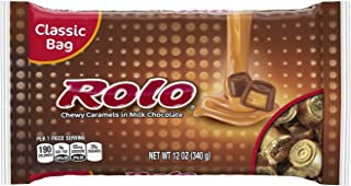 ROLO Chocolate Caramel Candy, 12 Ounce (Pack of 4)