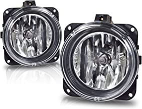 Fog Lights For Ford Focus (SVT Model Only) 2000-2005 Escape 2005 2006 Mustang (Cobra Model Only) 2003 2004 Lincoln LS 2002 (OE Style Real Glass Lens w/Bulbs)