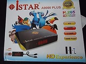 Istar korea A9000 Plus Satellite Receiver + IPTV Box 12 Month Online TV Arabic Kurd Persian Turkish Somali and Check Others