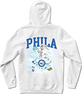 Diamond Supply Co. x NBA Space Jam 2 Men's Philadelphia 76ers Long Sleeve Pullover Hoodie