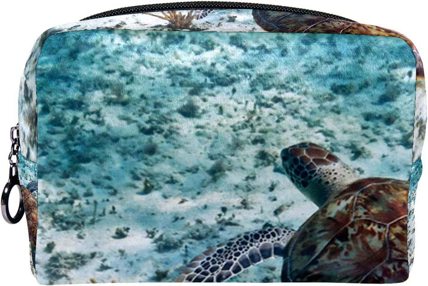 Cosmetic Bag for Women Roomy At the Max 43% OFF price Makeup sea turtle Travel Deep Bags