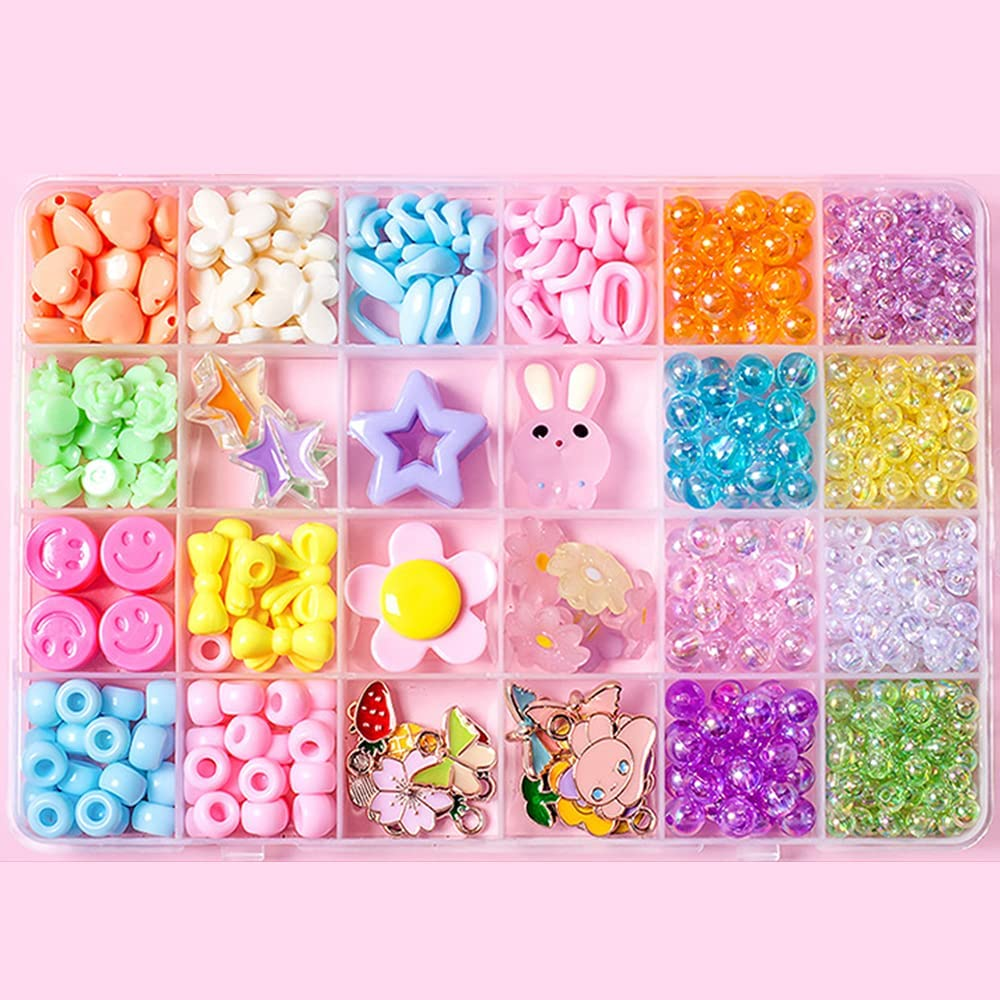 amuzer Multicolor Beading 2021 autumn and winter new Seed Beads Bulk Great interest Tube Small Kit