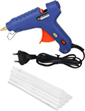 WADRO Plastic Built with Passion 100W Temperature High Power Hot Melt Glue Gun with Sticks (10 Pieces, Blue)
