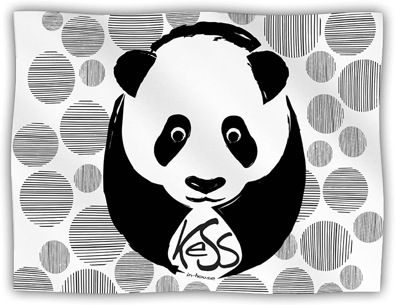 Kess InHouse KESS Original Panda  Pet Dog Blanket, 60 by 50Inch