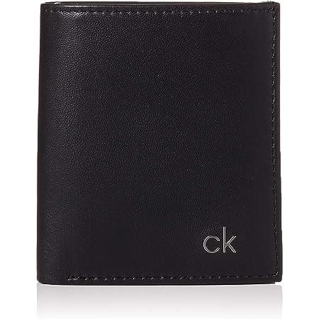 Calvin Klein - Smooth CK Mini NS 6 CC Coin Pass, Monederos Hombre, Negro (Black), 0.1x0.1x0.1 cm (B x H T)