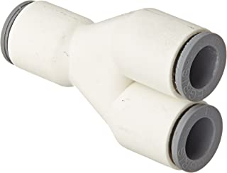 Pack of 5 Pack of 5 Parker Hannifin 6366 56 60WP2-pk5 LIQUIfit Tube Reducer Fitting 1//4 Push-to-Connect Tube x 3//8 Tube Stem 1//4 Push-to-Connect Tube x 3//8 Tube Stem Parker Hannifin Corporation Polymer Body