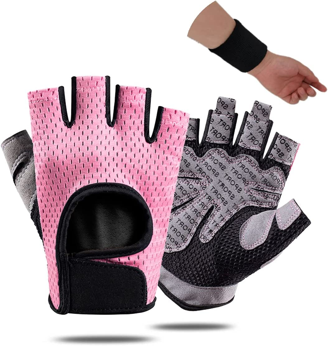 Antetek Fingerless Gloves for Ranking TOP5 WorkoutWomen Men Now on sale Breathable