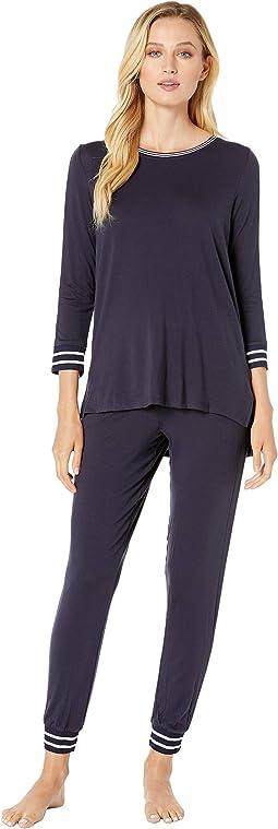 Long Sleeve Tee & Jogger Pajama Set