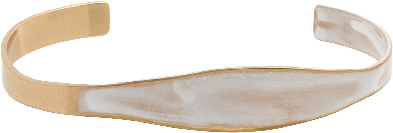 Robert Lee Morris Soho Patina Asymmetrical Cuff Bracelet