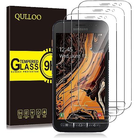 QULLOO Protector de Pantalla Samsung Galaxy Xcover 4S / 4, Cristal Templado [9H Dureza][Alta Definición][Fácil de Instalar] para Samsung Galaxy Xcover 4S / 4 (2 Piezas)