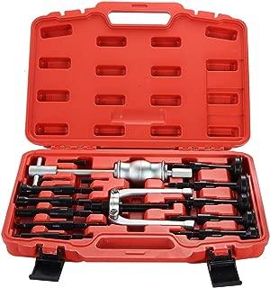 DASBET 16PCS Blind Inner Bearing Puller Hole Remover Extractor Set Slide Hammer Tool Kit