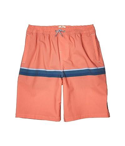 Rip Curl Kids Highway Volley Shorts (Big Kids) (Red) Boy