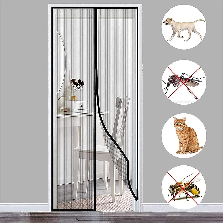 THAIKER High material Mosquito Door Screen 210x215cm with Over item handling 83x85inch Du Heavy