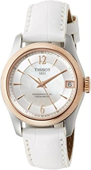 Tissot T-Classic Ballade Automatic Mother of Pearl Dial Ladies Watch