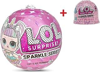 LOL Surprise Glam Glitter Rosa series Surtido unbox me 7 sor