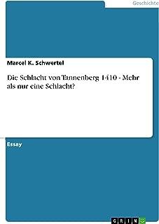 schlacht bei tannenberg 1410