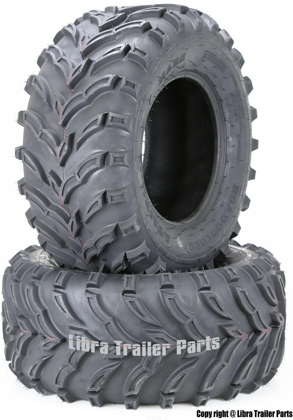 2 New ATV/UTV Tires 25x10-12 25x10x12 6PR 10273