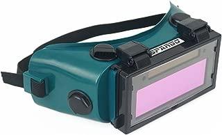 Spargo Auto Darkening LCD Welding Helmet Mask Goggles Solar Welder Eyes Glasses Gas Flip Up Lens Eye Protection
