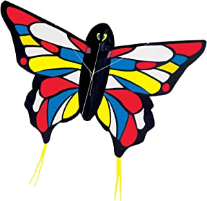Melissa & Doug Beautiful Butterfly Single Line Shaped Kite (50-Inch Wingspan)