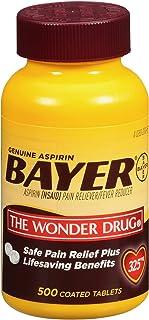 Bayer Genuine Aspirin (500 Ct.)