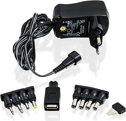 Csl Universal Netzteil 3 4 5 5 6 7 5 9 Und 12 V Ac Dc 1000 Ma 9 Polig Adapter Für Reise