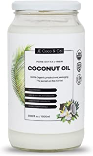 coconut oil for hair and body organic unrefined