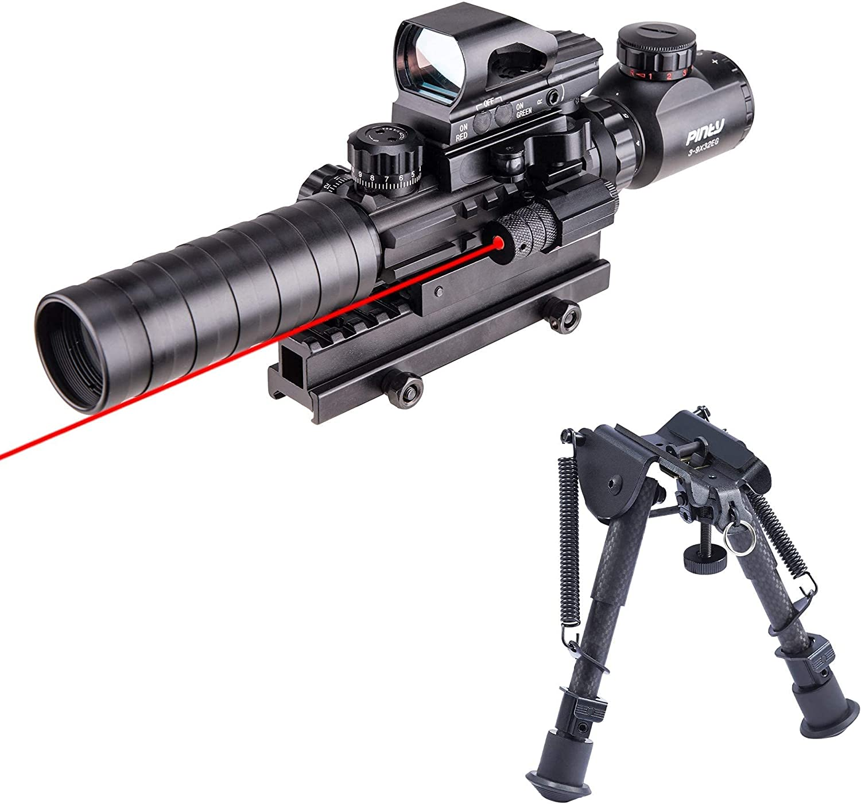 Surprise price Great interest Pinty Rifle Scope 3-9x32 Rangefinder Illuminated 4 Sight Reflex